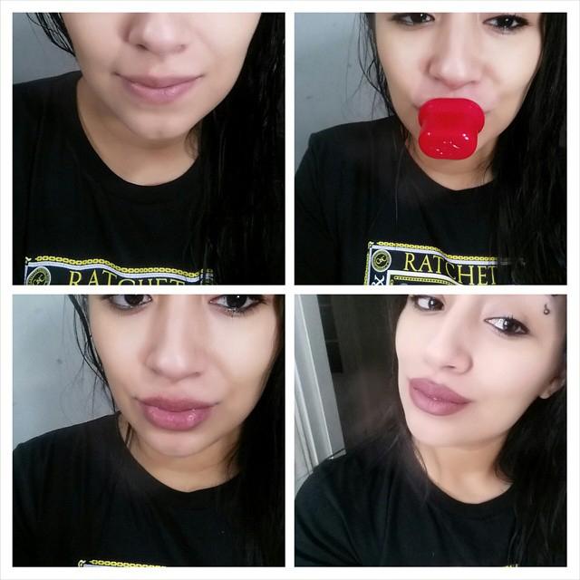 Как сделать объем для губ
